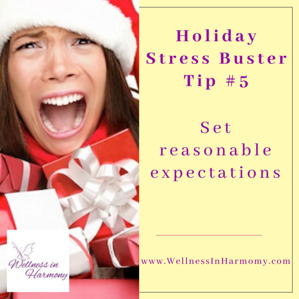 set clear expectations and boundaries to prevent holiday stress